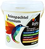 RyFo Colors Feinspachtel Premium 1kg - Allzweckspachtelmasse Instant Spachtel Füllspachtel