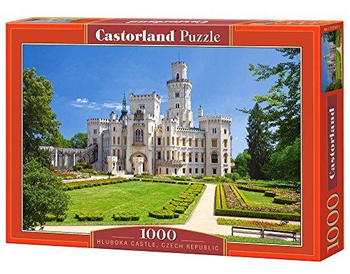 Castor 102167 - Castello Hluboka, Repubblica Ceca - Puzzle 1000 pezzi