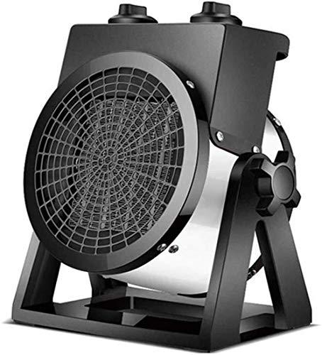 ZXCHEN Calentador de Espacios, Pesado Industrial Calentador eléctrico con Ayuda de un Ventilador, Peso...