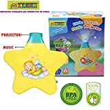 #5: Toy-Station - Little Angel Baby Sleep Star Projector with Star Light Show and Music for Kids