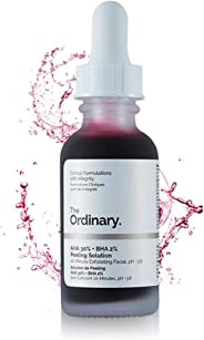 The Ordinary AHA 30% + BHA 2% Peeling Solution 30ml - 10 mins Exfoliating Mask Facial Serum