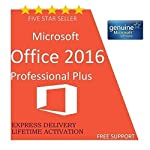 Microsoft Office Professional Plus 2016 GENUINE LICENSE KEY - LIFETIME ACTIVATION CODE Super Fast dellivery. The buyer would get a key BY EMAIL to use in both 32 and 64 bit downloaded from Microsoft site. Product ships through EMAIL ONLY anywhere in ...