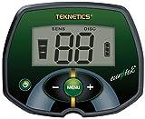 Teknetics Eurotek Metalldetektor mit-Konzentrischer Spule von First Texas