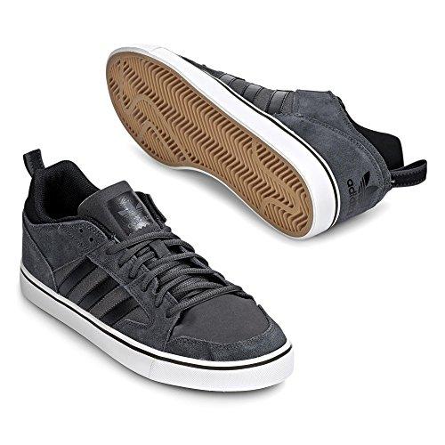 adidas Varial II Low, Chaussures de Skateboard homme Gris / noir / blanc