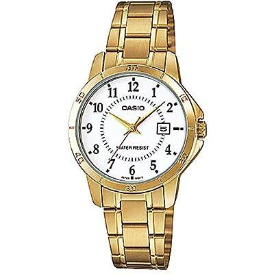 Casio Reloj con Movimiento Cuarzo japonés Woman LTP+V004G.7B 30 mm