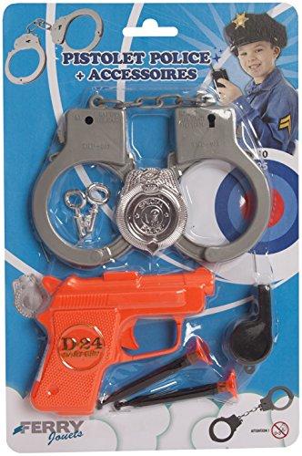 Sans Marque - Pistolet Police + Accessoires
