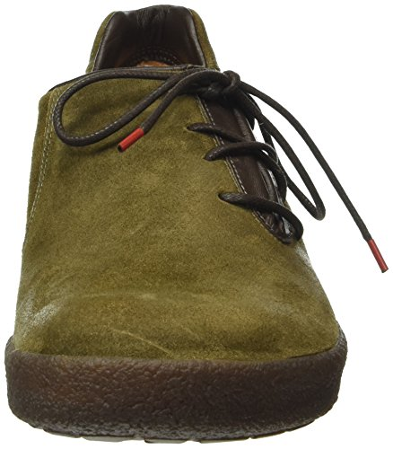 Think! GEOAG, Sneakers basses a lacets homme Marron - Braun (ESPRESSO/KOMBI 42)