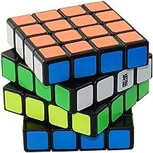 amour-story Moyu Weisu 4x 4liso y velocidad rápido Cube Magic Cube Puzzle (negro) el regalo perfecto para los chicos