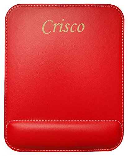 personalised-leatherette-mouse-pad-with-text-crisco-first-name-surname-nickname
