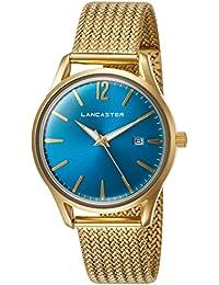 """2f074299cacb Lancaster Paris """"Heritage"""" reloj de pulsera azul claro mujer"""