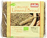 Delba Organic Linseed Bread 500 g (Pack of 12)