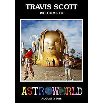 f6f04328eaf1 TRAVIS SCOTT Astroworld PHOTO Print POSTER Welcome To Rodeo Birds In The Trap  Kanye 006 A4