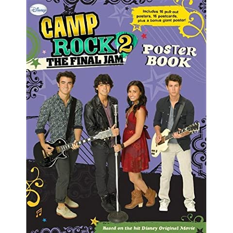 Camp Rock 2 the Final Jam: Poster Book [With 16 Pull-Out Posters and 16 Postcards] by Inc. Disney Enterprises (Corporate Author) (27-Jul-2010) Paperback