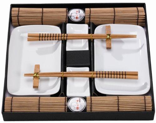 Juego Asia, natural. Extras geniales para el Perfect Roll Sushi completan el surtido.
