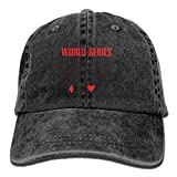 Aeykis Men & Women Vintage Adjustable Jeans Caps Trucker Cap - World Series of Poker 2017