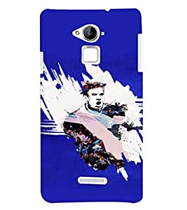 PRINTSHOPPII SPORTS FOOTBALL Back Case Cover for Coolpad Note 3