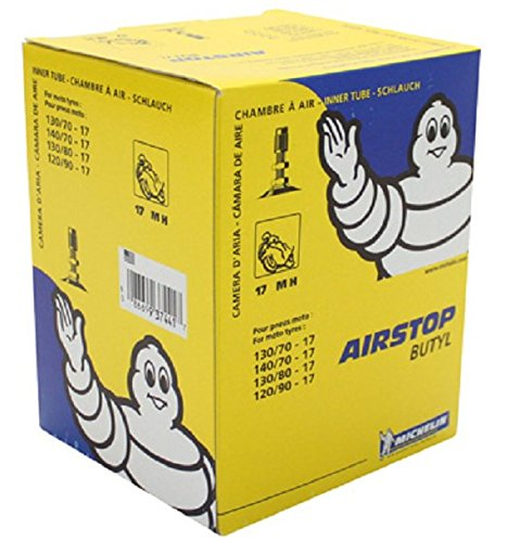 Chambre air moto Michelin 17 MH Valve TR4 (130/70-17, 140/70-17, 130/80-17, 120/90-17)
