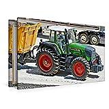 Premium Textil-Leinwand 120 x 80 cm Quer-Format FENDT 926 Vario TMS | Wandbild, HD-Bild auf Keilrahmen, Fertigbild auf hochwertigem Vlies, Leinwanddruck von Geiger Günther