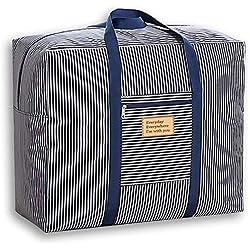 Sac de rangement en tissu épais Oxford pour le déplacement Entretien de la maison, aller à l'école, Stockage de vêtement, Organisateur de couette, sacs de rangement de décoration de festival