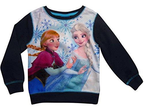 Frozen - Die Eiskönigin Disney Pullover Mädchen Anna und ELSA ()