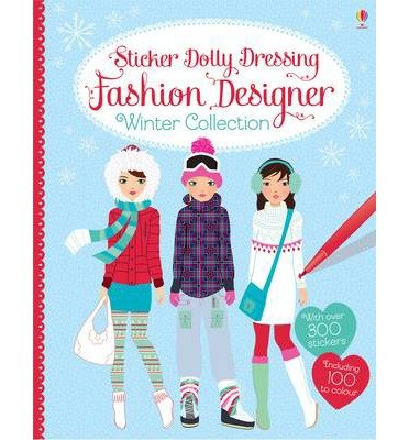 ({STICKER DOLLY DRESSING FASHION DESIGNER WINTER COLLECTION}) [{ By (author) Fiona Watt, Illustrated by Stella Baggott }] on [October, 2014] (Sticker Dolly 2014)