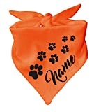 Hunde Dreiecks Halstuch (Fb: rosa) Name des Hundes