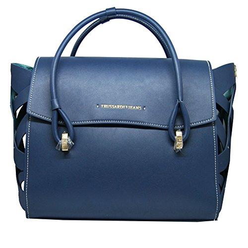 Borsa Donna 2 Manici | Trussardi Jeans Dahlia | 75B0034399999-Blue