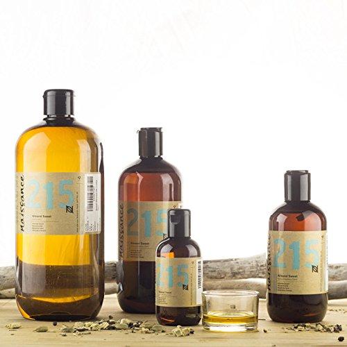 Ansicht vergrößern: Naissance reines Mandelöl süß (Nr. 215) 250ml - Vegan, gentechnikfrei - Ideal zur Haar- und Körperpflege, für Aromatherapie und als Basisöl für Massageöle