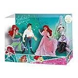 Bullyland 13424 Disney La Sirenetta, set di statuette con charm.