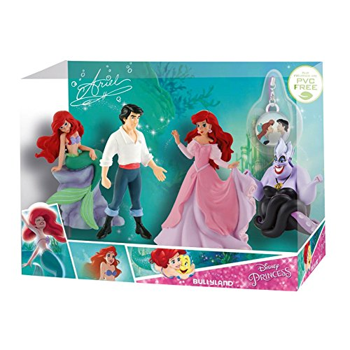Bullyland 13424 - Figura de princesa de la sirena de Disney – Juego de historia con encanto