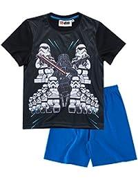 LEGO Star Wars Chicos Pijama mangas cortas - Negro