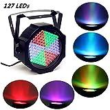 solmore 25W Projektor Disco bis 127LEDs pro LED DMX Sound Auto Stroboskop Modus Licht DJ Licht Lampe-Bühne Licht Disco-Lichtspiel Abend Geburtstag Hochzeit 220V