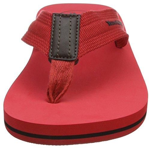 Marc OPolo Herren Beach Sandale 80323691003602 Zehentrenner Rot (Red)