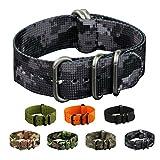 INFANTRY® ACU Uhrenarmbänder Uhrband ZULU Urban Camo Strap Band Uhrenband Armband Armee 22mm