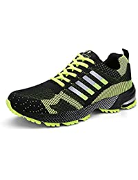 Senbore Men Casual Sports Shoes Air Trainers Fitness Flats Running Athletic Competition Sneakers