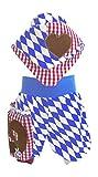 PimPanty, Pumphose,Spielhose, Halstuch, Oktoberfest,Gr. 50 bis 128 (128)