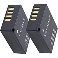 TOP-MAX 2X Batería para Fujifilm NP-W126 NP-W126s compatible con FinePix X-T1 X-T2 X-T10 X-T20 X-Pro2 X-E1 X-E2 X-M1 X-A1 X-A2 X-Pro1
