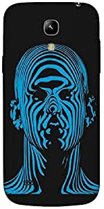 Timpax Protective Hard Back Case Cover Printed Design : A blue Guy.Exactly Design For : Samsung I9190 Galaxy S4 mini