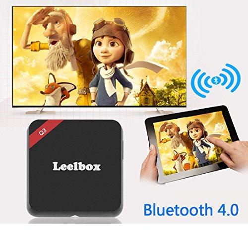 (2016 die Beste) Leelbox Q3 Android TV Box 2 GB/16GB 5G / 2.4G Dual Wi-Fi Bluetooth 4.0 Amlogic S905 Android 5.1 mit 1000M LAN KODI 16.1 Alle Vorinstallierte Pluggins Update von M9S Streaming Media Player - 6