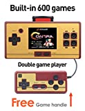Classic FC Pocket Video Game 2.6 Inch Screen Children's Handheld Game Console Built-in 472 Games with Game Card 128 Games (GM01031DRedUK)