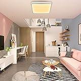 Hengda® 12W Warmweiß LED Schlafzimmer Deckenbeleuchtung 2700K-3200K Deckenbeleuchtung IP44 Badezimmer geeignet
