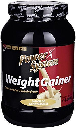 Power System - Proteinpulver Vanille - 1000g - Bars Weight Protein Gainer