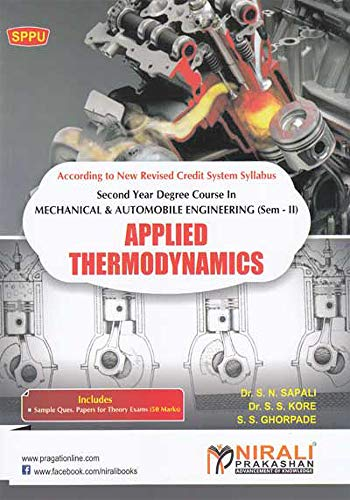 Applied Thermodynamics Ebook