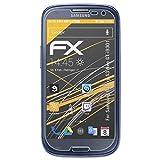 atFolix Schutzfolie für Samsung Galaxy S3 Neo (GT-i9301) Displayschutzfolie - 3 x FX-Antireflex blendfreie Folie