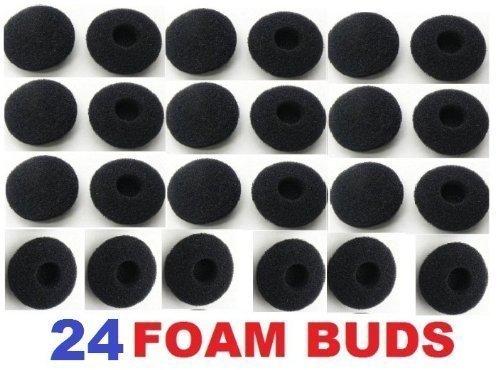 Juego de Esponja para Auriculares con audífonos (24 Paquetes de 15 mm a 18 mm)