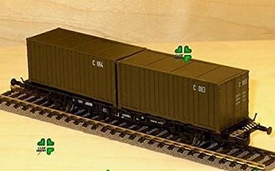 Roco Minitanks 00812 CONTAINERWAGEN von Roco Minitanks 00812 CONTAINERWAGEN