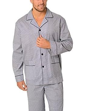 El Búho Nocturno (Especial Tallas Grandes Pijama de Caballero Largo clásico Cachemir/Ropa de Dormir para Hombre...