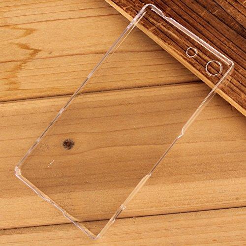 Minto Ultradünn TPU Hülle iPhone 8 Plus / iPhone 7 Plus Silikon Schutzhülle Handyhülle Case Crystal Cover Durchsichtig transparent 0.6mm Xperia Z5 Compact