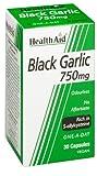 HealthAid Black Garlic 30 Vegicaps 750 mg by Healthaid