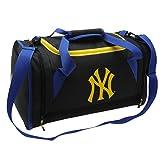 New York Yankees MLB Sac fourre-tout Bleu marine/jaune Baseball Fourre-tout Sac de voyage, Bleu marine/jaune, H: 28cm; W: 48cm; D: 26cm.